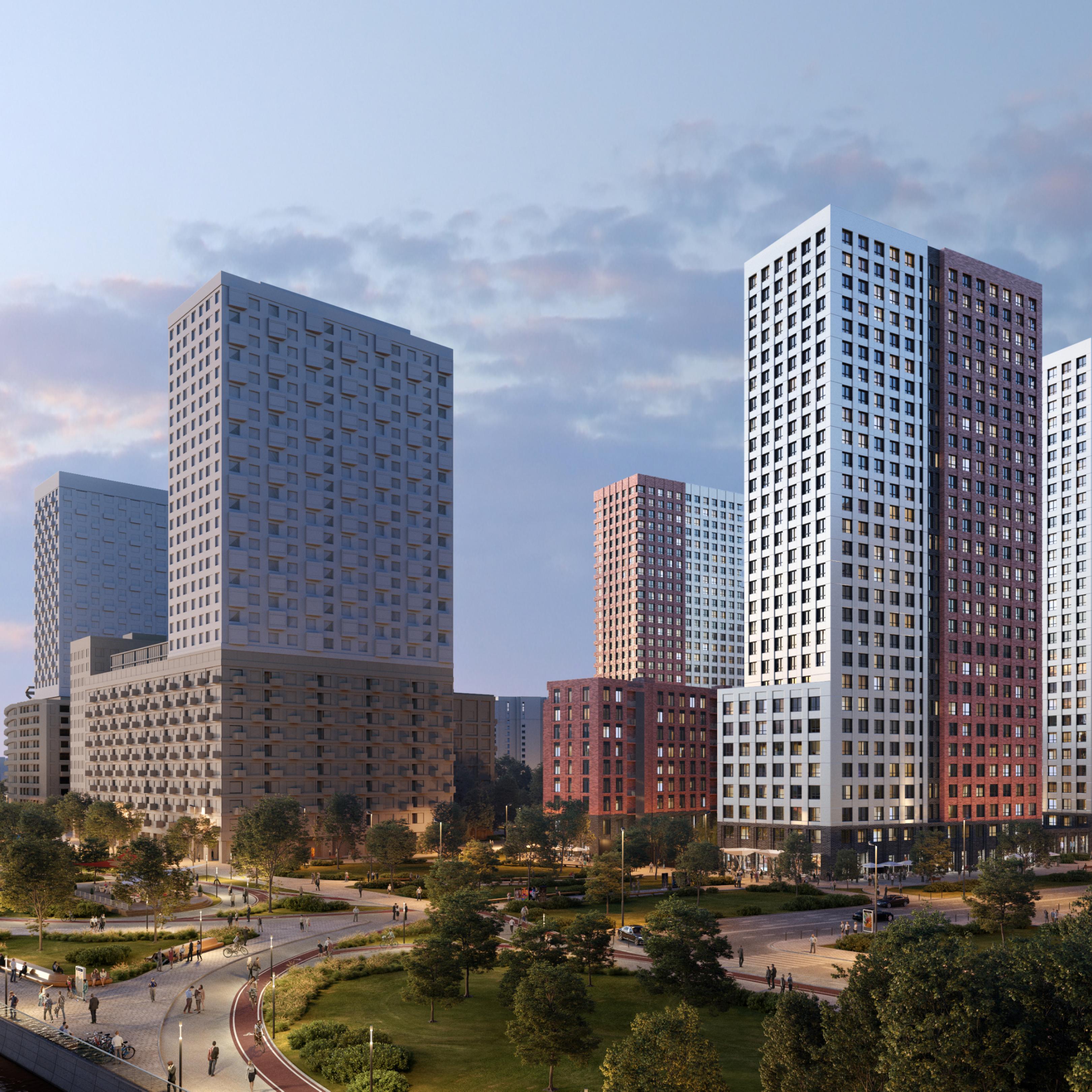 Продвижение   жилых комплексов:  идеальное УТП